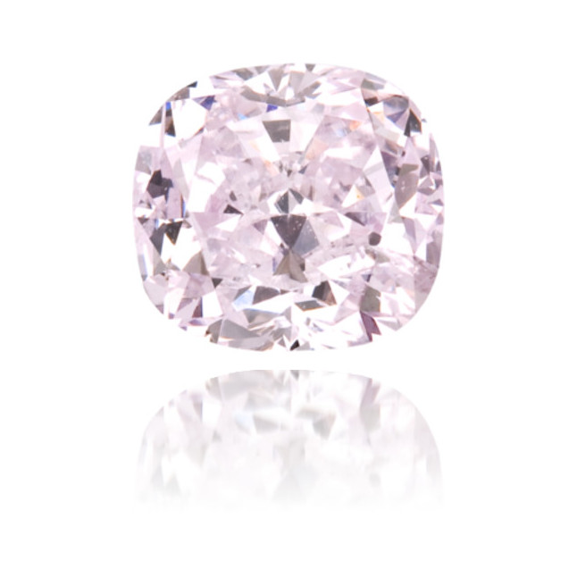 Natural Purple Diamond Cushion 0.41 ct Polished