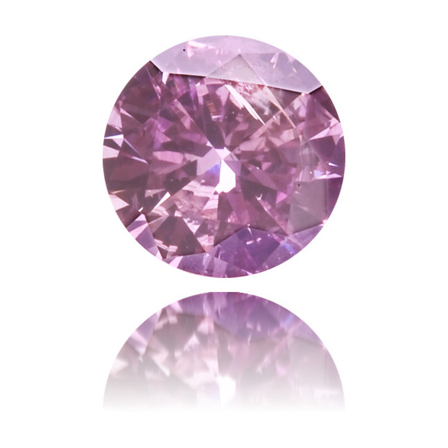 Natural Purple Diamond Round 0.17 ct Polished