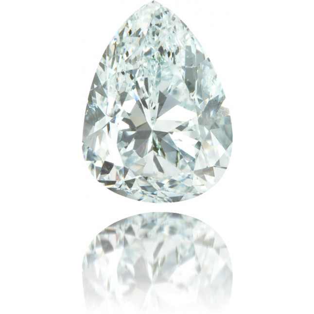 Natural Green Diamond Pear Shape 1.03 ct Polished