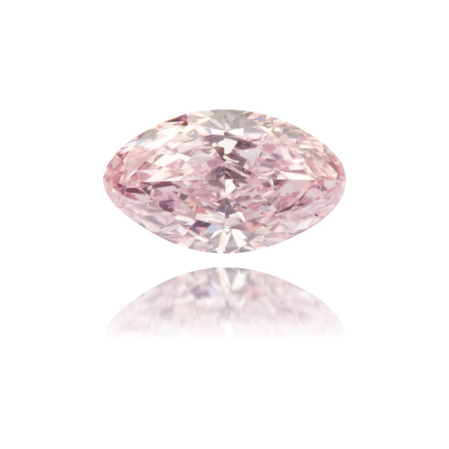 Natural Pink Diamond Marquise 0.58 ct Polished