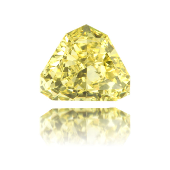 Natural Yellow Diamond Bishop Hat 1.14 ct Polished