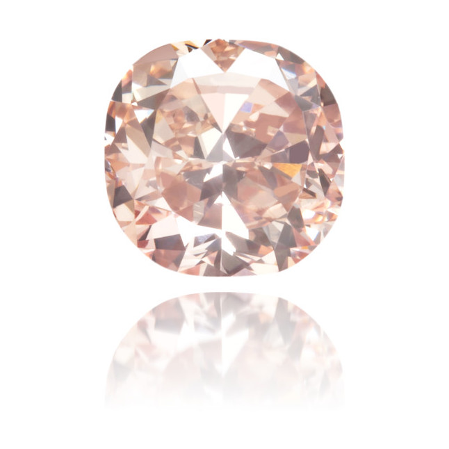 Natural Pink Diamond Square 0.63 ct Polished