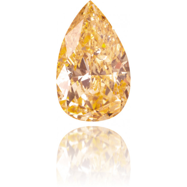 Natural Yellow Diamond Pear Shape 1.09 ct Polished