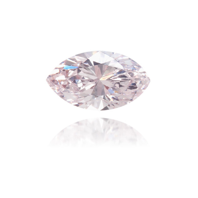 Natural Pink Diamond Marquise 0.11 ct Polished