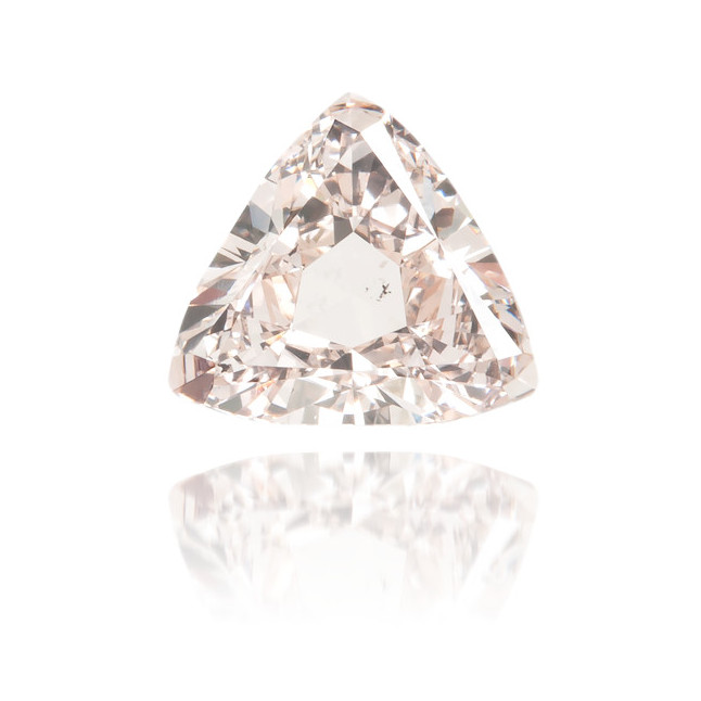 Natural Pink Diamond Triangle 0.89 ct Polished