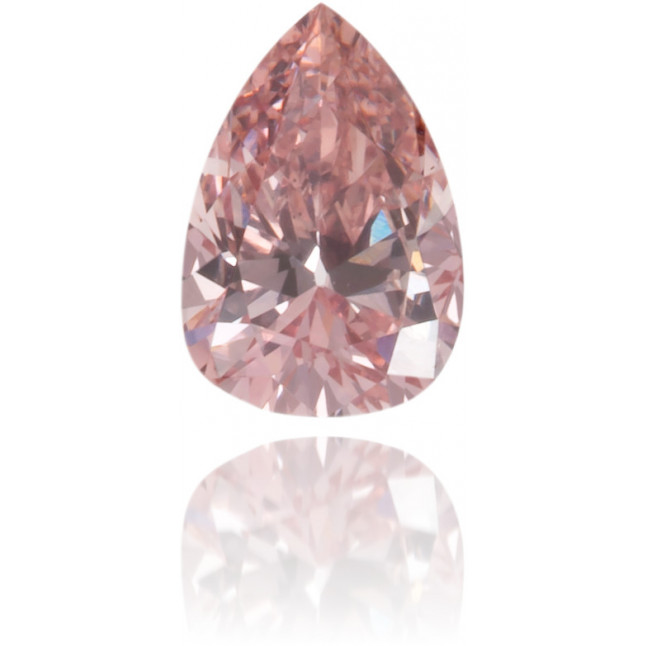 Natural Pink Diamond Pear Shape 0.12 ct Polished