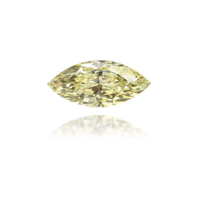 Natural Yellow Diamond Marquise 0.50 ct Polished