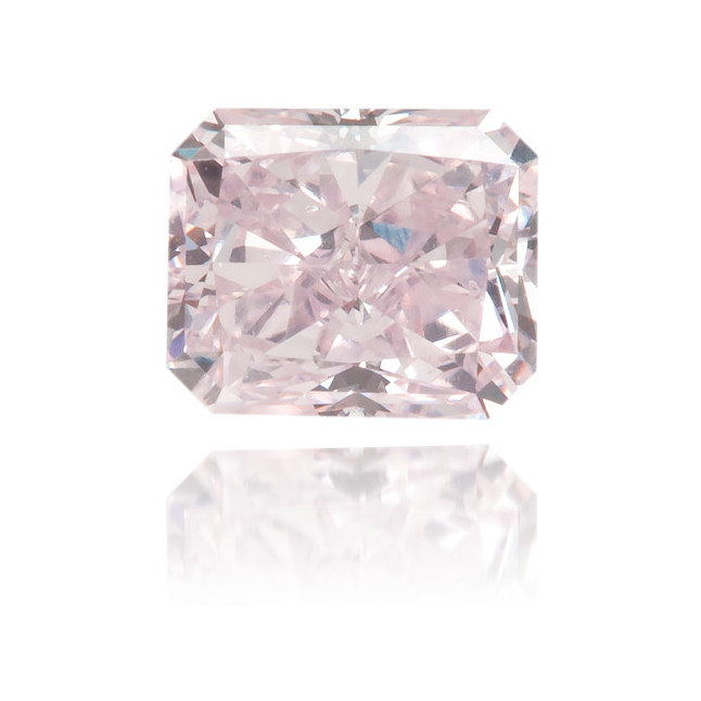 Natural Pink Diamond Rectangle 0.42 ct Polished