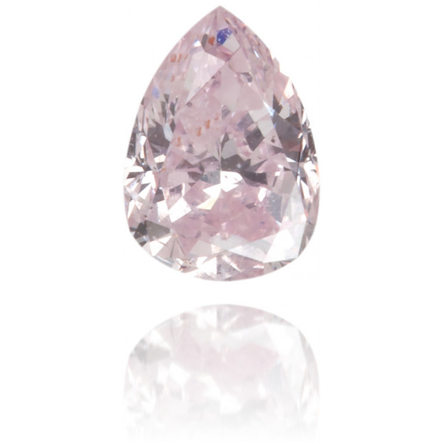 Natural Pink Diamond Pear Shape 0.17 ct Polished