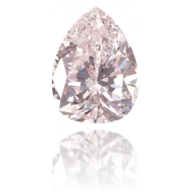 Natural Pink Diamond Pear Shape 0.15 ct Polished
