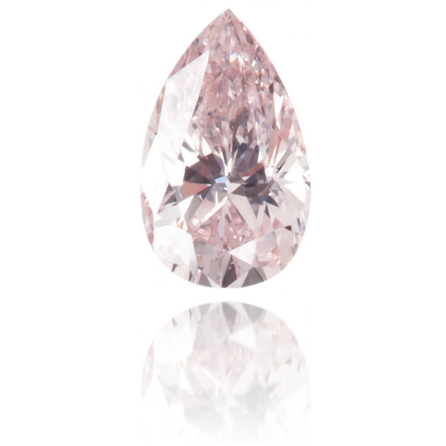 Natural Pink Diamond Pear Shape 0.14 ct Polished