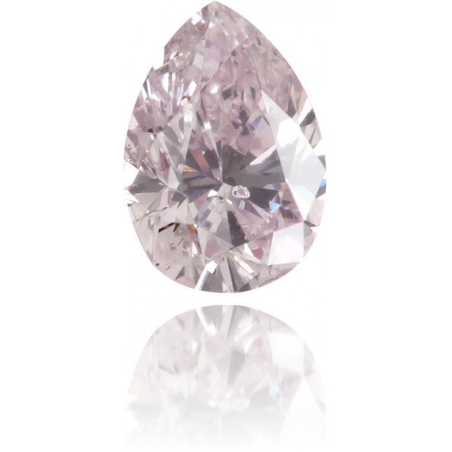 Natural Pink Diamond Pear Shape 0.18 ct Polished