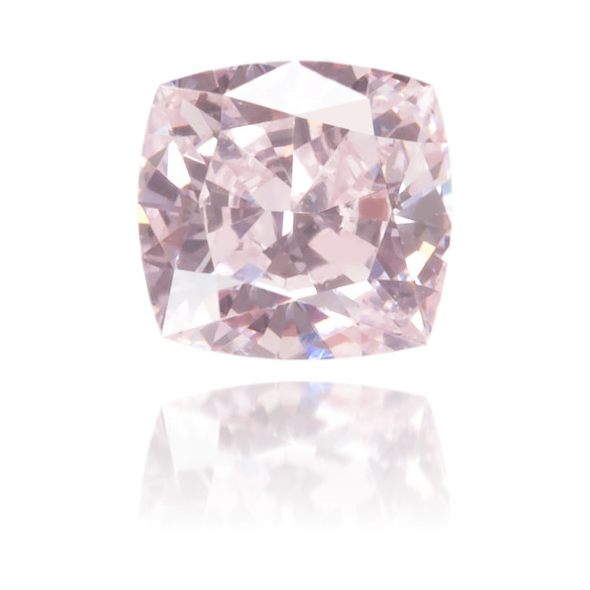 Natural Pink Diamond Rectangle 0.16 ct Polished