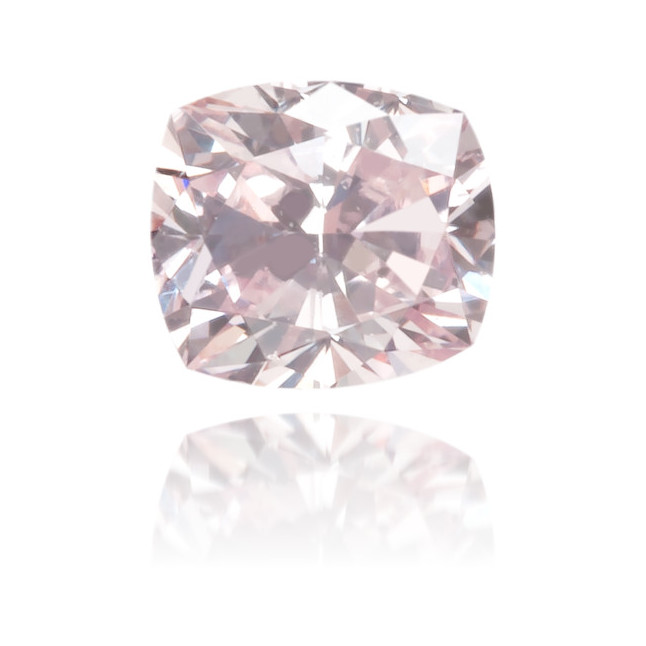 Natural Pink Diamond Square 0.15 ct Polished