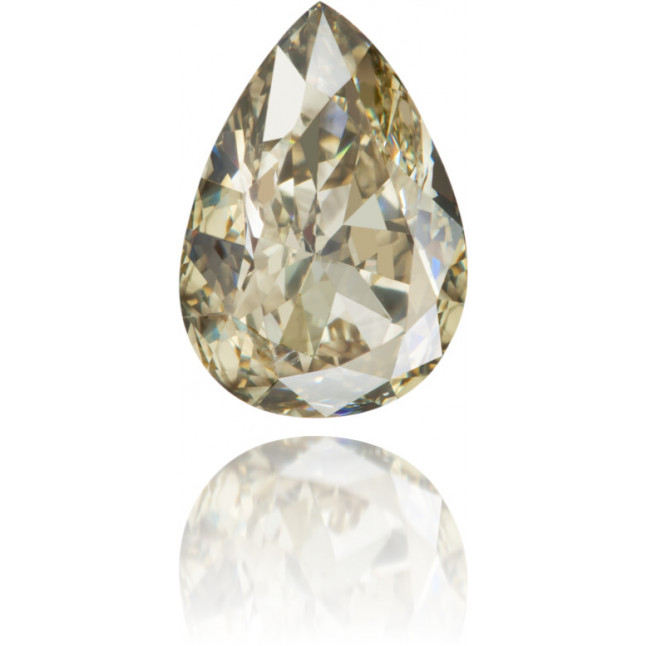 Natural Green Diamond Pear Shape 1.99 ct Polished