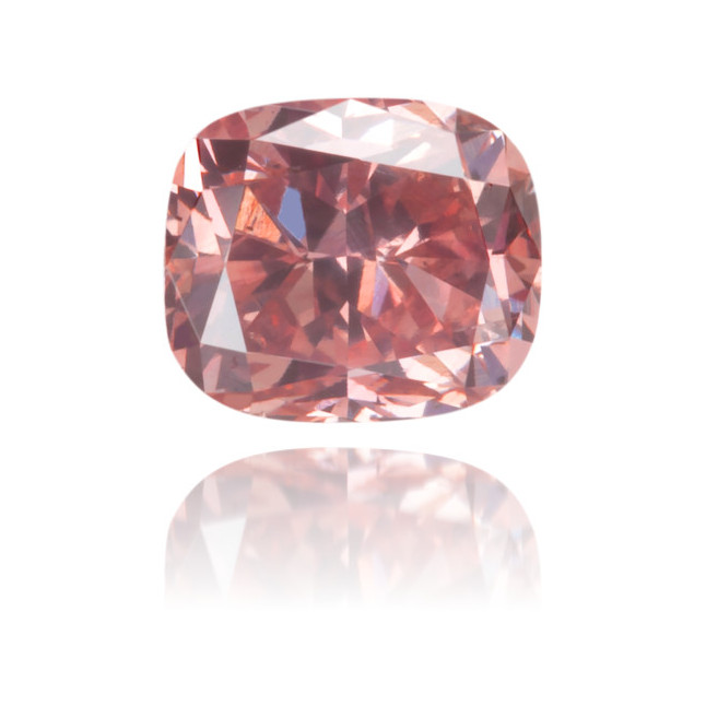 Natural Pink Diamond Cushion 0.53 ct Polished