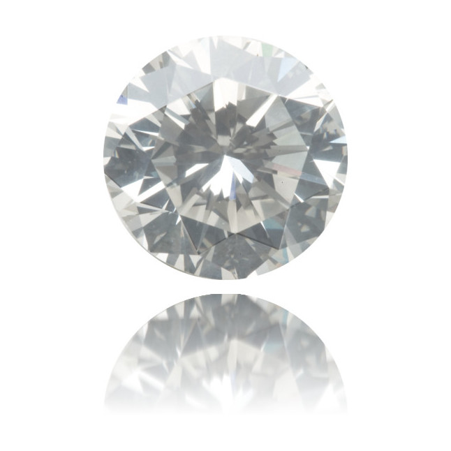Natural Gray Diamond Round 2.14 ct Polished