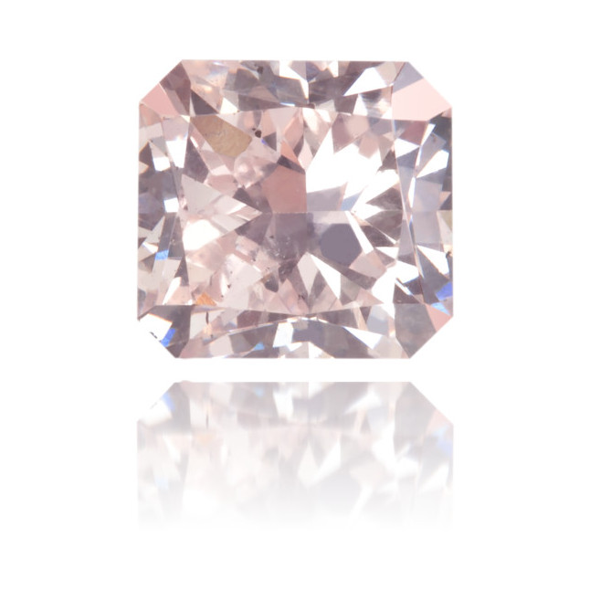 Natural Pink Diamond Square 0.84 ct Polished