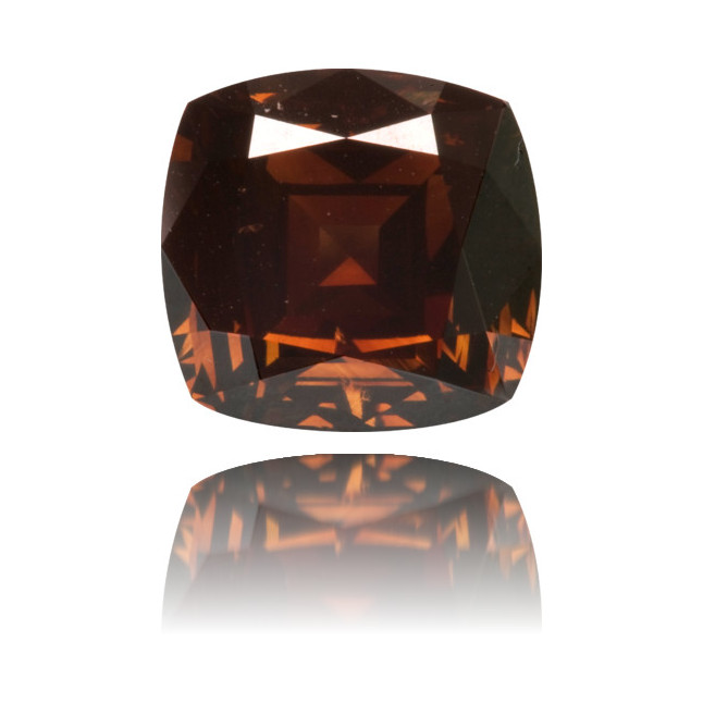 Natural Brown Diamond Cushion 2.26 ct Polished