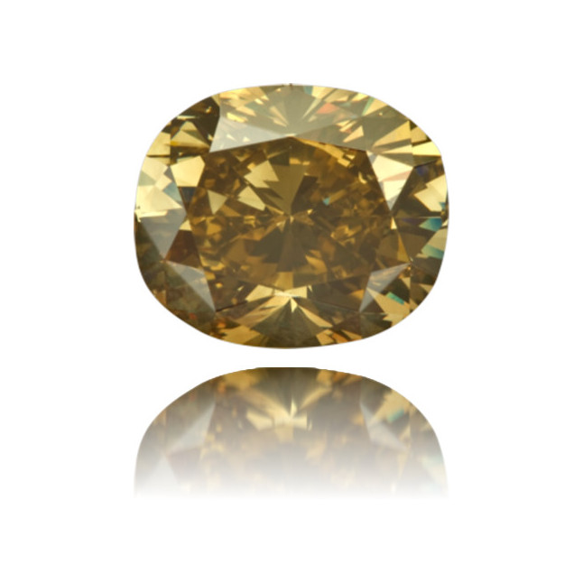 Natural Green Diamond Oval 2.81 ct Polished
