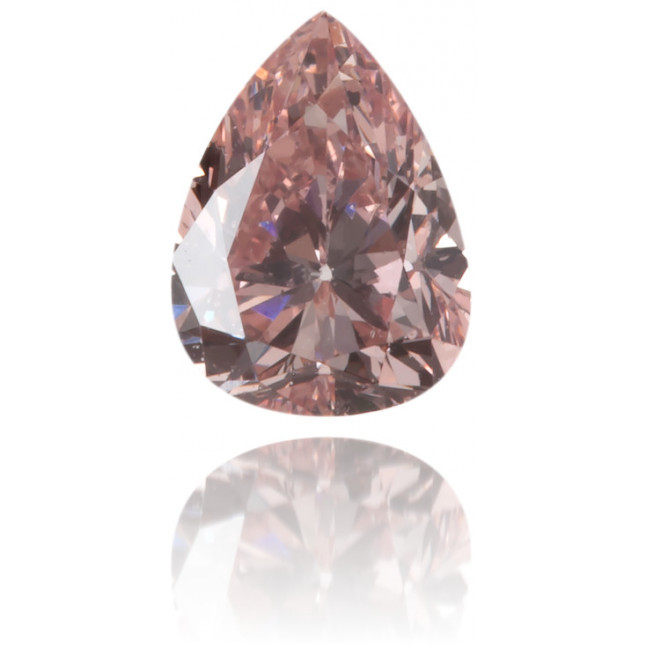 Natural Pink Diamond Pear Shape 0.24 ct Polished