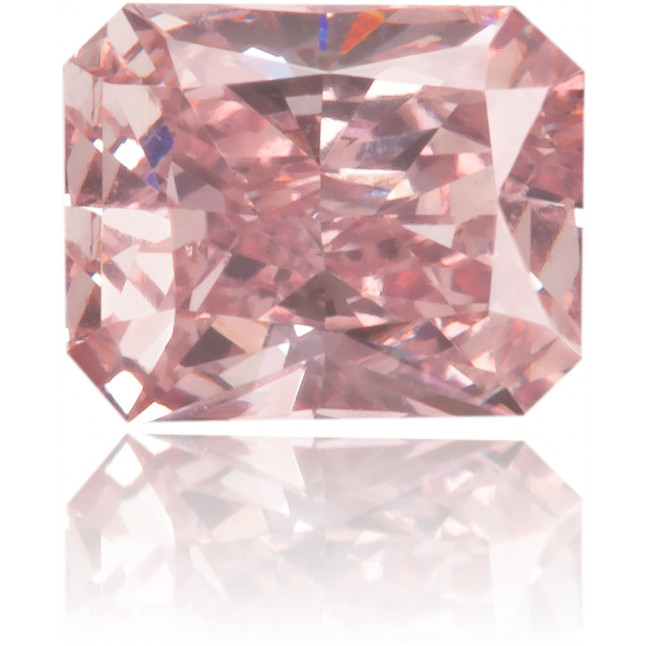 Natural Pink Diamond Rectangle 0.27 ct Polished