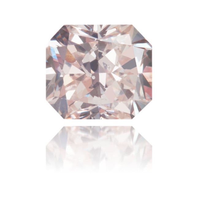 Natural Pink Diamond Rectangle 0.72 ct Polished