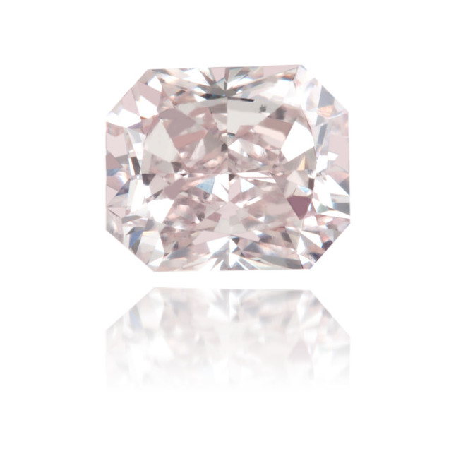 Natural Pink Diamond Rectangle 0.66 ct Polished