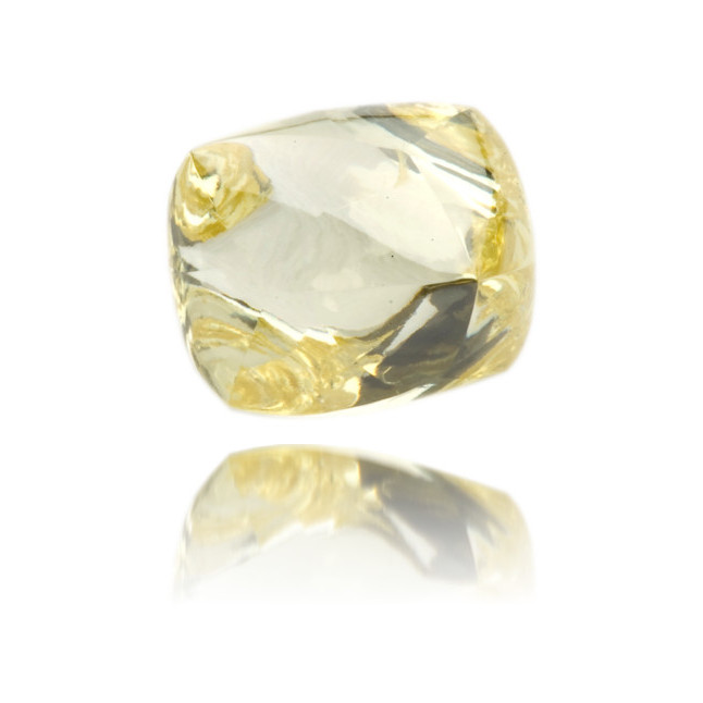 Natural Yellow Diamond Rough 1.84 ct Rough