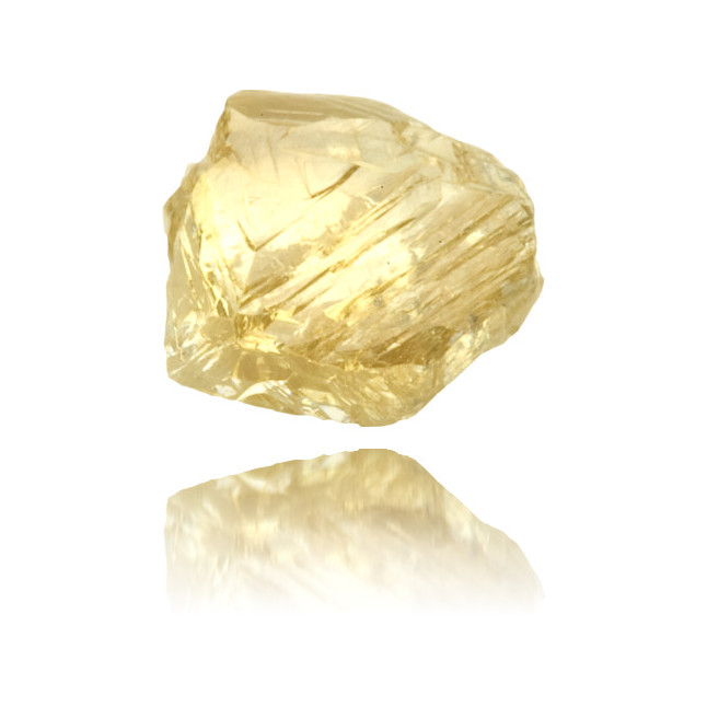 Natural Yellow Diamond Rough 0.82 ct Rough
