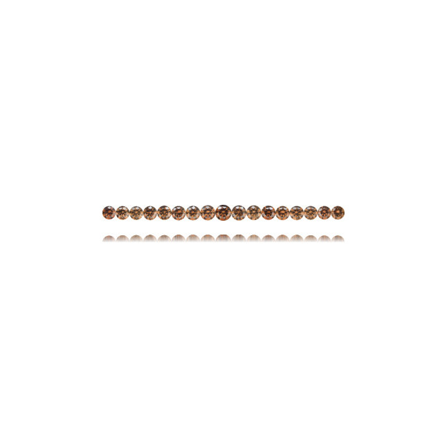 Natural Brown Diamond Round 20.34 ct Set