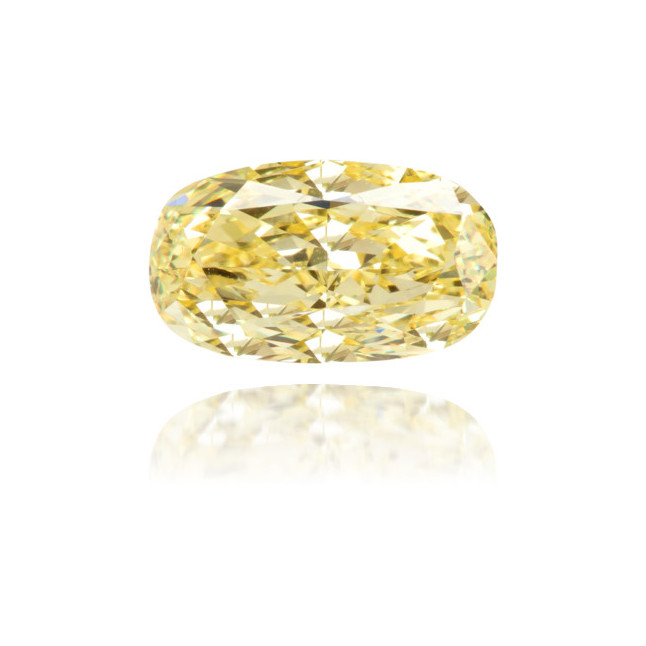Natural Yellow Diamond Oval 1.10 ct Polished