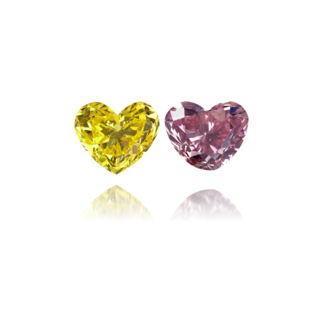 Natural Other Diamond Heart Shape 1.00 ct Set