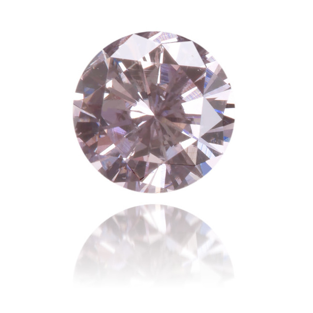 Natural Purple Diamond Round 0.28 ct Polished