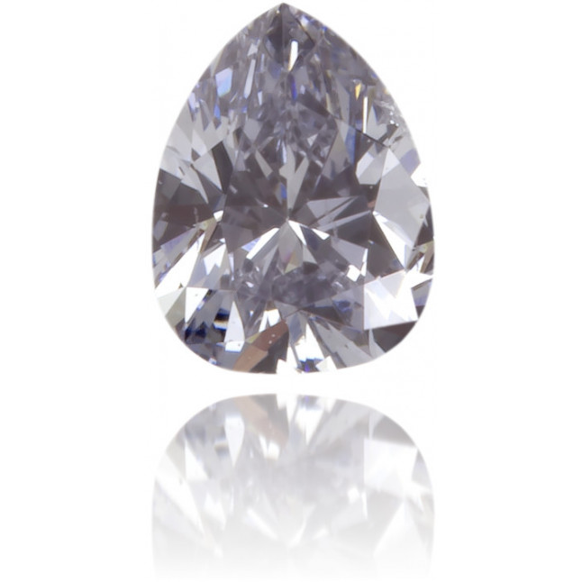 Natural Blue Diamond Pear Shape 0.14 ct Polished