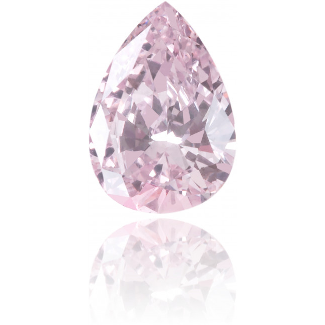 Natural Purple Diamond Pear Shape 0.21 ct Polished