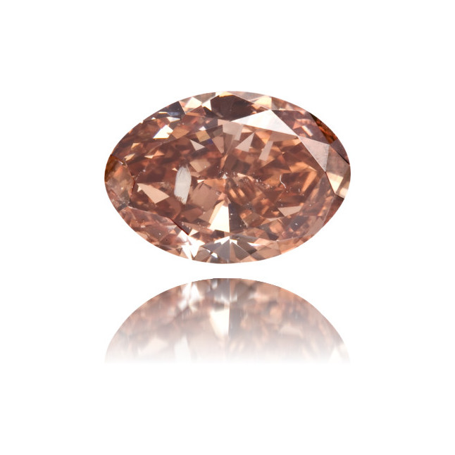 Natural Pink Diamond Oval 1.02 ct Polished