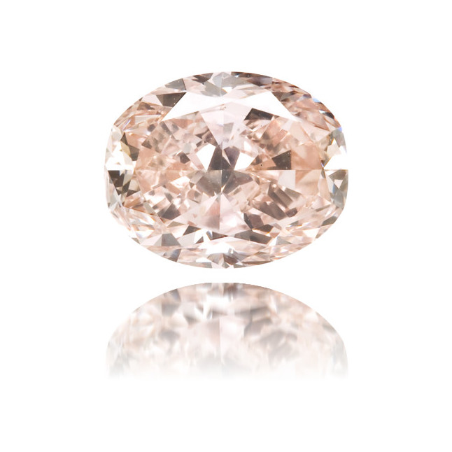 Natural Pink Diamond Oval 1.08 ct Polished
