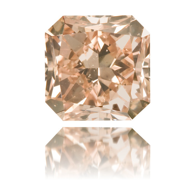 Natural Pink Diamond Square 1.22 ct Polished