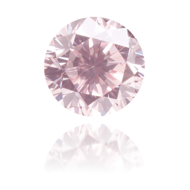 Natural Pink Diamond Round 0.61 ct Polished