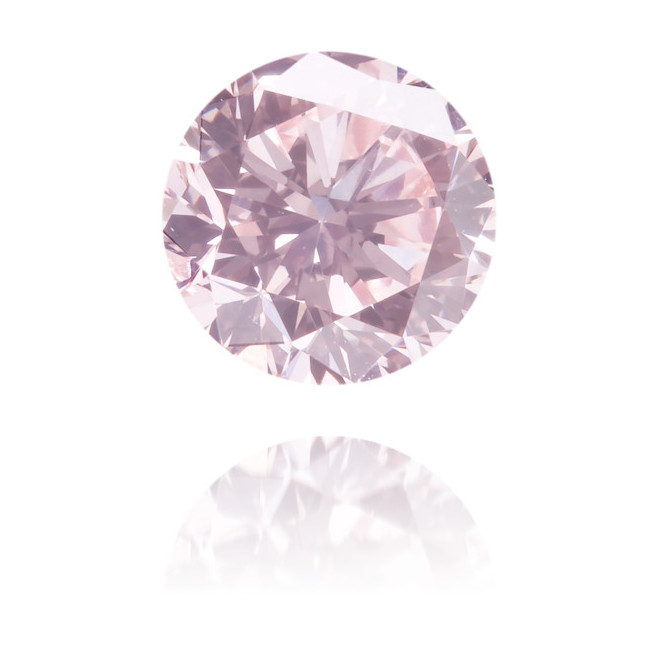 Natural Pink Diamond Round 0.54 ct Polished