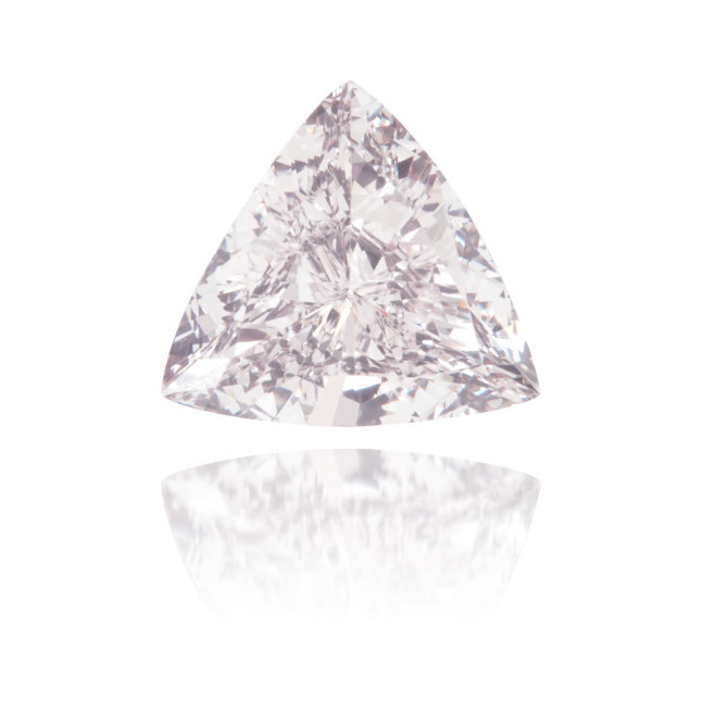 Natural Pink Diamond Triangle 0.46 ct Polished