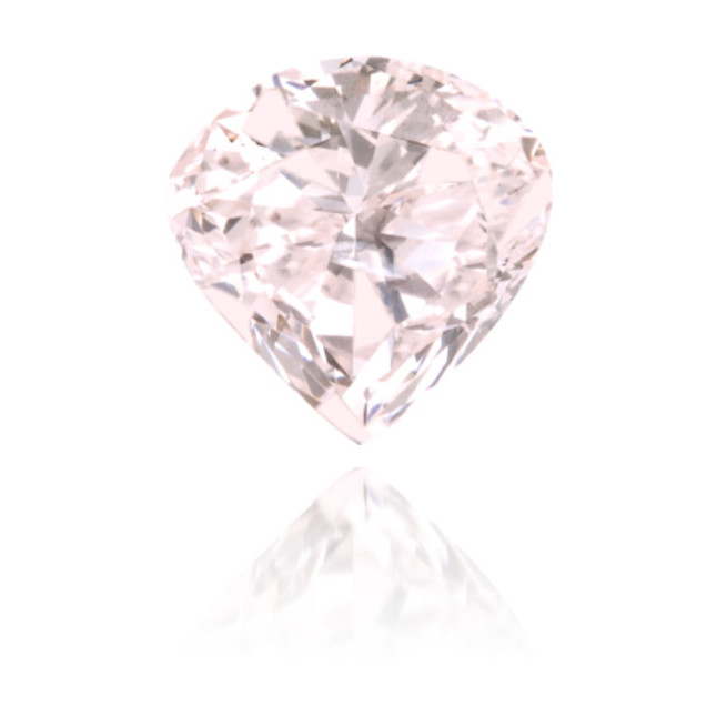 Natural Pink Diamond Heart Shape 1.02 ct Polished