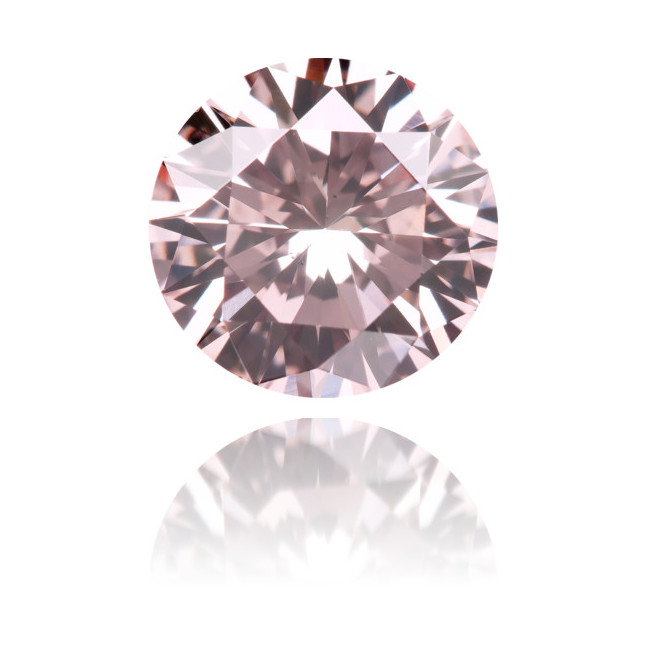 Natural Pink Diamond Round 1.10 ct Polished