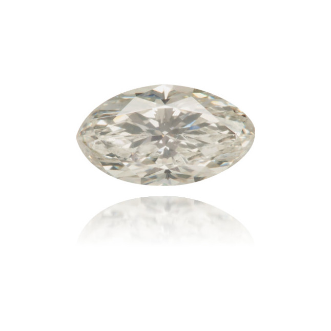 Natural Gray Diamond Oval 0.40 ct Polished