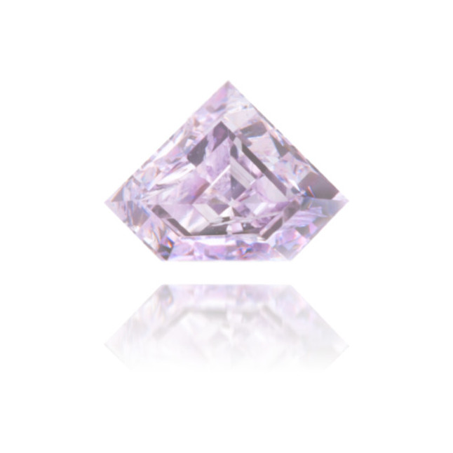 Natural Purple Diamond Shield 0.31 ct Polished