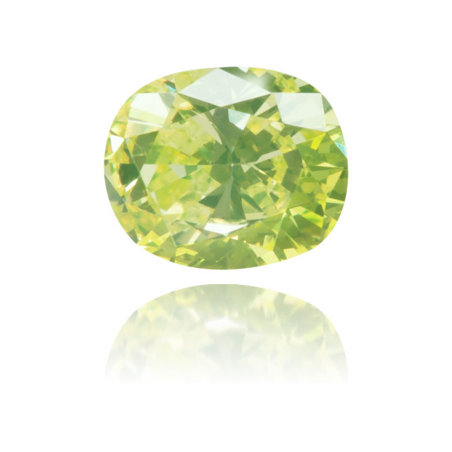 Natural Green Diamond Oval 0.34 ct Polished