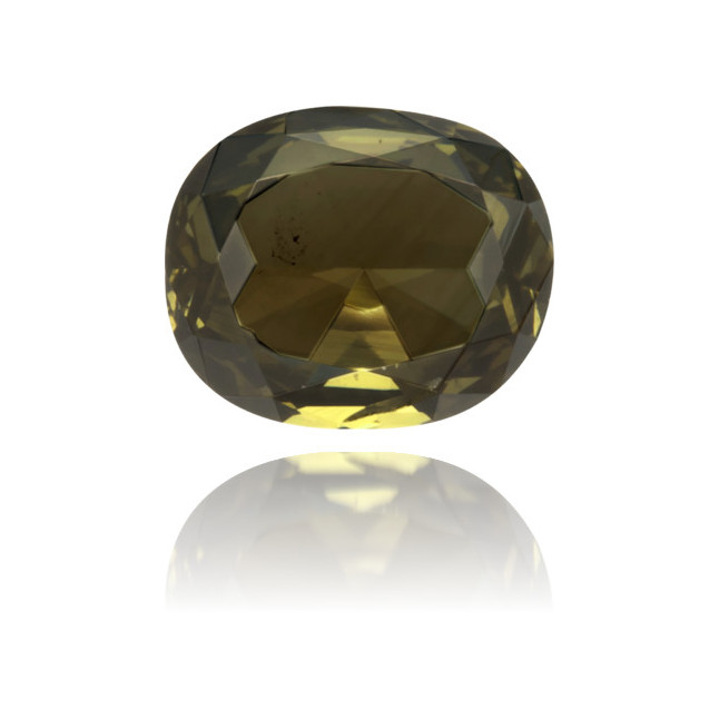 Natural Green Diamond Oval 0.26 ct Polished