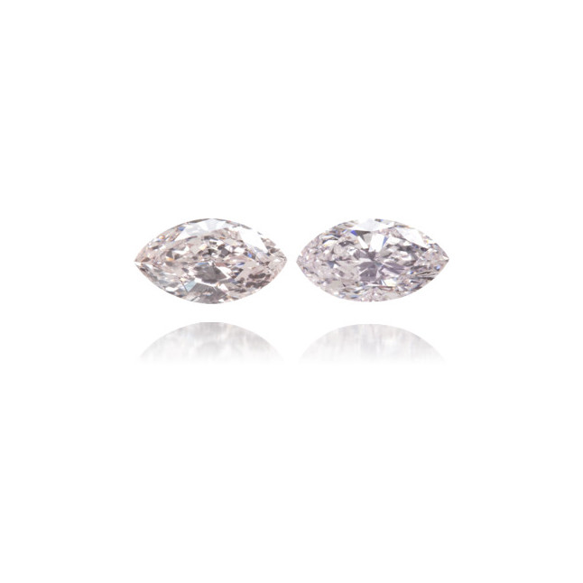 Natural Pink Diamond Marquise 0.27 ct Set