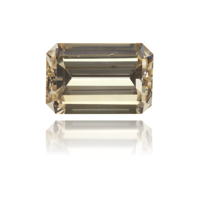 Natural Brown Diamond Rectangle 3.75 ct Polished